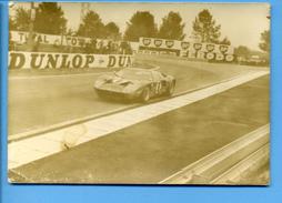 24 HEURES DU MANS 1969 - FORD GT 40 N° 8 - Photo, - Le Mans