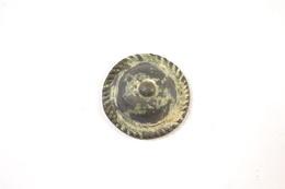 Ornement De Phalere / Harnais, Forme Chapeau, Romain - Archéologie