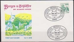 BRD FDC 1978 Nr.999 Burg Lichtenberg Burgen Und Schlösser ( D 5171 )