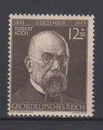 Deutsches Reich / 100. Geburtstag Von Prof. Dr. Robert Koch  / Michel 864