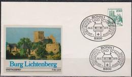 BRD FDC 1978 Nr.999 Burg Lichtenberg Burgen Und Schlösser ( D 5172 )