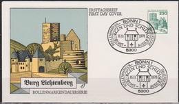 BRD FDC 1978 Nr.999 Burg Lichtenberg Burgen Und Schlösser ( D 5173 )