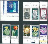 Deutschland / DDR / Germany / GDR 1971**: Michel-Nr. 1621-1630 + 1644-1658