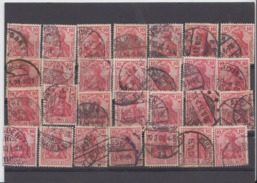 Germania  Steckkarte Voll 28 X  ( 369) Nicht Durchsucht Nach Drucken Und Anderen