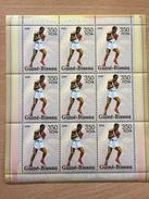 Guiné-Bissau Guinea Guinée Bissau 2005 Mi. 3125 Boxe Boxing Boxen Sport Olympic Games Pekin Beijing 2008 Olympia Jeux