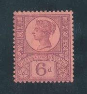 GRANDE-BRETAGNE - 1887/1892 - Yvert N# 100 - NEUF * M.MINT - 6p. Victoria Jubilee Set