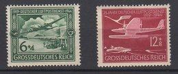 Deutsches Reich / 25 Jahre Deutscher Luftpostdienst  / Michel 866, 867
