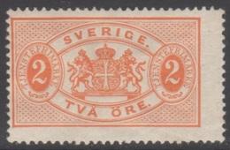 SUEDE 1891 1 TP De Service N° 15 Y&T Neuf * Charnière