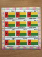 Guiné-Bissau Guinea Guinée Bissau 2011 Mi. 5383-84 Kleinbogen Symbols Flag Coat Of Arm Drapeau Fahne