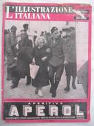 382E/1  RIVISTA ILLUSTRAZIONE ITALIANA N.21 DEL 23 MAGGIO 1943 FATTI E AVVENIMENTI DELLA GUERRA INCURSIONE CIVITAVECCHIA - Guerra 1939-45