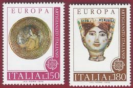 1976 - Europa - Set -  Yt:IT 1262 - 63 - MNH - 6. 1946-.. Repubblica