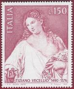 1976 - Tiziano Vecellio, Titian - Yt:IT 1271 - MNH
