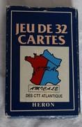Jeu De Cartes 32 Cartes à Jouer HeroPub CIRA Amicale Des CTT Atlantique - Carte Publicité - 32 Cards