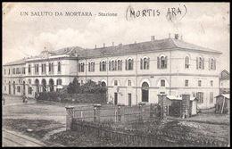 Pavia - Un Saluto Da Mortara - Stazione Ferroviaria - Vg - Pavia