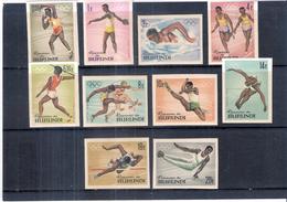 Burundi - 102/11 ND - JO Tokyo 1964 - XX/MNH - Série Complète