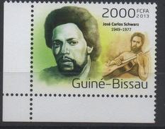 Guiné-Bissau Guinea Guinée Bissau 2013 Mi. ? José Carlos Schwarz Guitare Gitarre Music Musik Musique - Guinée-Bissau
