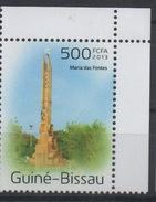 Guiné-Bissau Guinea Guinée Bissau 2013 Mi. ? Maria De Fontes Monument Architecture - Guinée-Bissau