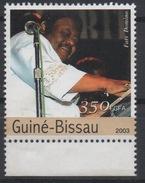 Guiné-Bissau Guinea Guinée Bissau 2003 Mi. 2335 Fats Domino Singer Music Musique Musik - Musique