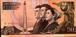 COREE DU NORD  50 CHON De 1992  Pick 42  UNC/NEUF - Corée Du Nord