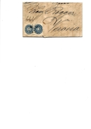 N° 30 (2) WIEN 24.5. 1866 S/Lettre Vers VERONA. TB