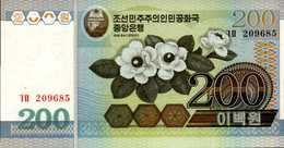 COREE DU NORD  200 CHON De 2005  Pick ?  UNC/NEUF - Corée Du Nord