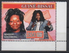 Guiné-Bissau Guinea Guinée Bissau 2007 Mi. 3461 Whoopi Goldberg Actor Schauspielerin Actrice Cinema Hollywood - Guinée-Bissau