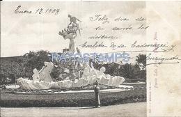 66627 ARGENTINA BUENOS AIRES FUENTE LOLA MORA AÑO 1907 POSTAL POSTCARD
