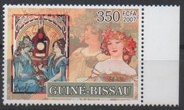 Guiné-Bissau Guinea Guinée Bissau 2007 Mi. 3536 Alfons Mucha Jugendstil Art Kunst Painting