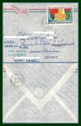 Madagascar Lettre 60 Ans URSS Voy 1987 > France Orbec Réexpédiée Main Hand Cheval Horse Blason Drapeau Flag