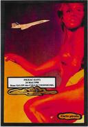 CPM LARDIE JIHEL Tirage Limité En 30 Exemplaires Signés Salon Pirate Nu Féminin Concorde Figeac Série Les Flamboyantes - Bourses & Salons De Collections