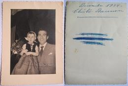 Luis Mariano - Rare Photo Signée - Indication 1954 - Célébrités