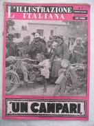 382E/14  RIVISTA L'ILLUSTRAZIONE ITALIANA N.9 DEL 28 FEBBRAIO 1943 FATTI E AVVENIMENTI DELLA GUERRA SUL FRONTE TUNISINO - Before 1900