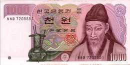 COREE DU SUD 1000 WON De 1962 Pick 47  UNC/NEUF - Korea, South