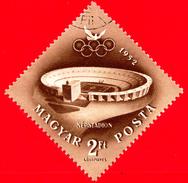 UNGHERIA - 1952 - Helsinki, Giochi Olimpici Estivi - Stadio - Népstadion, Budapest - 2 P. Aerea