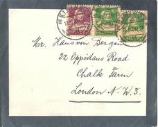 Trauerbrief  Meiringen - London             1924