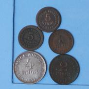 PORTUGAL    - 5 COINS     - (Nº10026) - Portugal