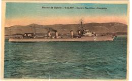 CPA Marine De Guerre Valmy Contre Torpilleur D'Escadre Militaria Bateau - Guerra