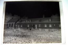 Vron - Lieu à Confirmer - Nord Abbeville Somme 80 - Photos Uniques ! 4 Négatifs Sur Plaques De Verre 9X12cm - Plaques De Verre