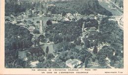 VUE AERIENNE DE L EXPOSITION COLONIALE PARIS 1931 UN COIN DE L EXPOSITION COLONIALE - Tentoonstellingen