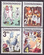 CZECHOSLOVAKIA 1985, Complete Set, MNH. Michel 2827-2830. CHILDREN´S ILLUSTRATION. Good Condition, See The Scan