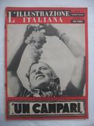 382E/19  RIVISTA L'ILLUSTRAZIONE ITALIANA N.37 DEL 12 SETTEMBRE 1943 FATTI E AVVENIMENTI DELLA GUERRA - Ante 1900