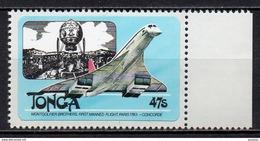 Tonga - 1983 - Yvert N° 531 ** - Concorde