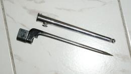 BAIONNETTE  ANGLAISE CLOU AVEC FOURREAU DE PARADE - - Knives/Swords