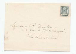 984/23 - Carte Publicitaire PREO Bruxelles 1911 - Extraits Pour ALCOOLS Liqueur Advokaat , Fine Champagne Delcroix à BXL