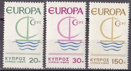 Zypern - Mi.Nr. 270 - 272 - Postfrisch MNH - Europa CEPT 1966