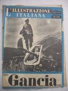 382E/27  RIVISTA L'ILLUSTRAZIONE ITALIANA N.47 DEL 21 NOVEMBRE 1943 FATTI E AVVENIMENTI DELLA GUERRA - Guerra 1939-45