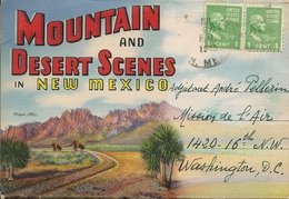 NEW MEXICO - Moutain And Desert Scenes - 18-sided Reverse Viewer - 18 Vues - Etats-Unis