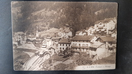 Finhaut - Village - Train - VS Wallis