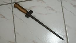 BAIONNETTE RACCOURCIE LEBEL SANS FOURREAU - - Knives/Swords