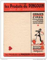 39772-ZE-PUBLICITE-Les Produits Du PINGOUIN-CIRAGES-CIRES----pense Bête-de 19 Feuillets---Succ BLANDAIN (B) - Advertising